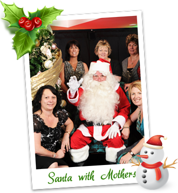 Santa with Mothers